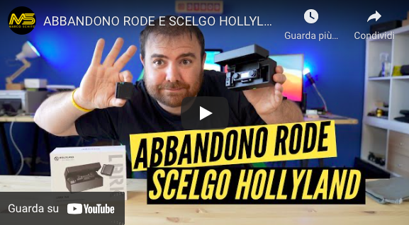 Dal Rode a Hollyland i Nuovi Microfoni Unboxing e test